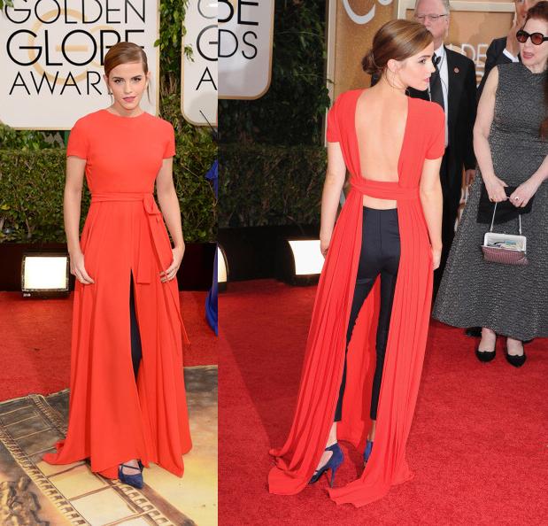 Emma Watson me enamoró perdidamente con su Dior, sobre todo de espalda. ¡Me encantó! Hermione, sigues siendo la más lista.
