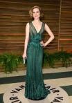 A Evan Rachel Wood le perdonamos el brillibrilli porque ya sabéis que tengo debilidad por los vestidazos verdes.