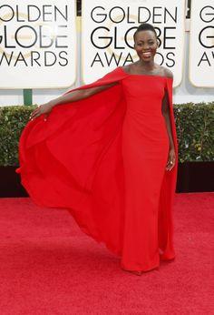 Mejor vestidas 2014 - Lupita Nyongo - Ralph Lauren