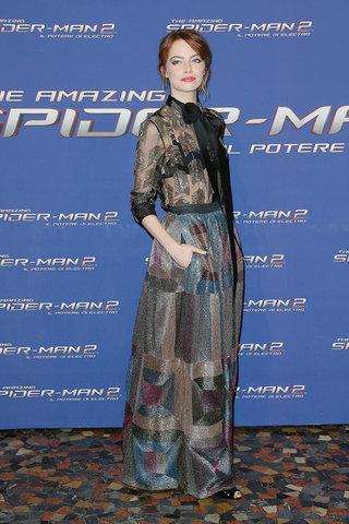 Mejor Vestidas 2014 - Emma Stone 3