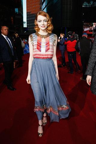 Mejor Vestidas 2014 - Emma Stone 4