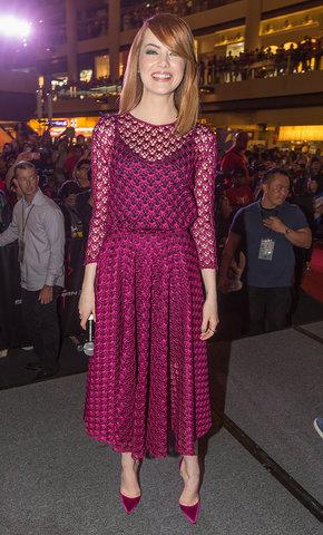 Mejor Vestidas 2014 - Emma Stone 7