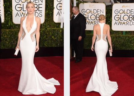 Vale que Kate Hudson tiene un tipazo y vale que el vestido le sienta como un guante. Pero ese escotazo y ese corte son chonis y lo sabéis.