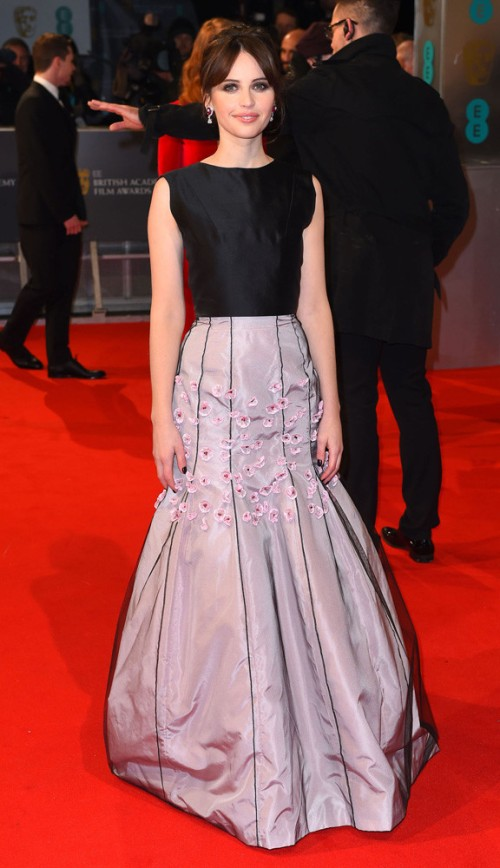 felicity-jones-bafta-2015-dior
