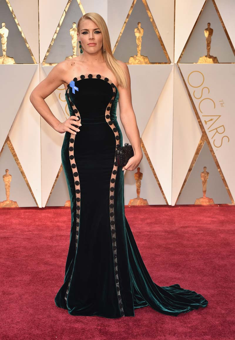 HOLLYWOOD, CAr Busy Philipps attends the 89th Annual Academy Awards at Hollywood & Highland Center on February 26, 2017 in Hollywood, California. (Photo by Kevin Mazur/Getty Images)