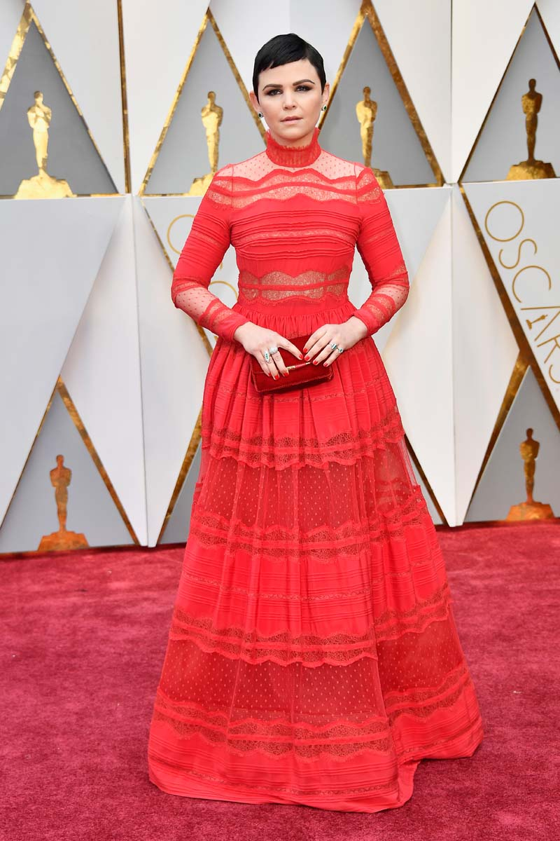 Ginnifer Goodwin attends the 89th Annual Academy Awards at Hollywood & Highland Center on February 26, 2017 in Hollywood, California. (Photo by Frazer Harrison/Getty Images)