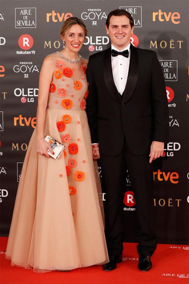 Beatriz Tajuelo alfombra roja Goya 2018
