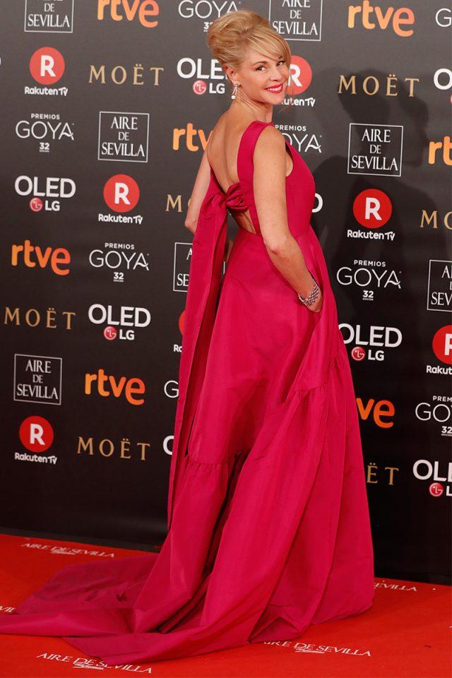 Belen Rueda CH alfombra roja Goya 2018