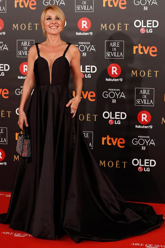 Cayetana Santos Costura alfombra roja Goya 2018