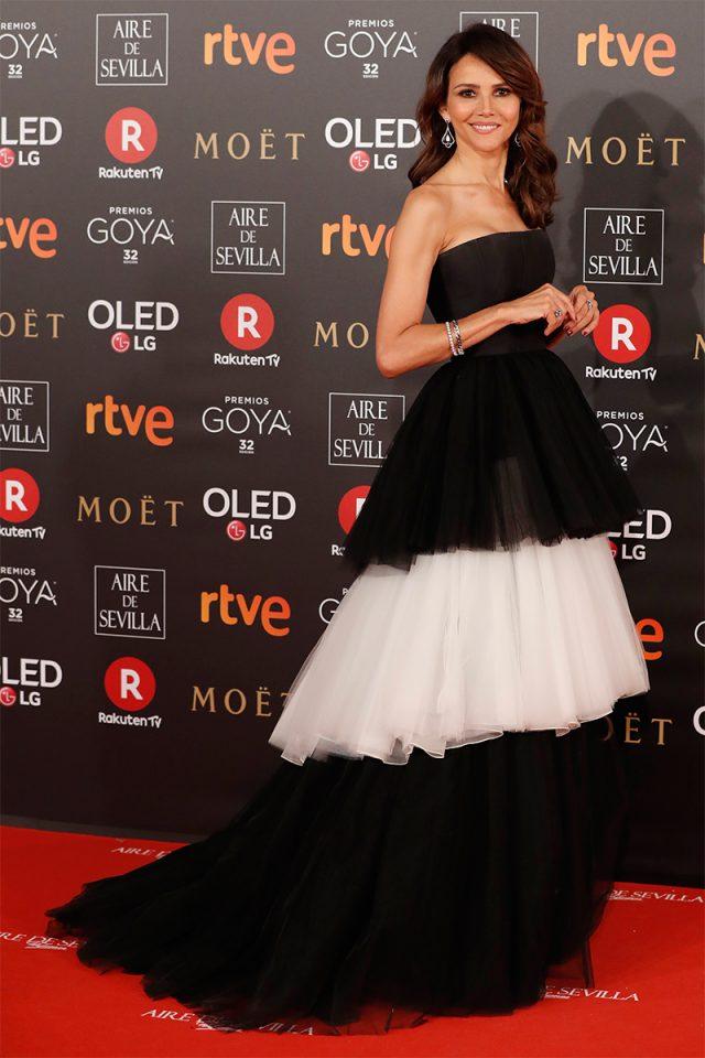 Goya Toledo CH alfombra roja Goya 2018