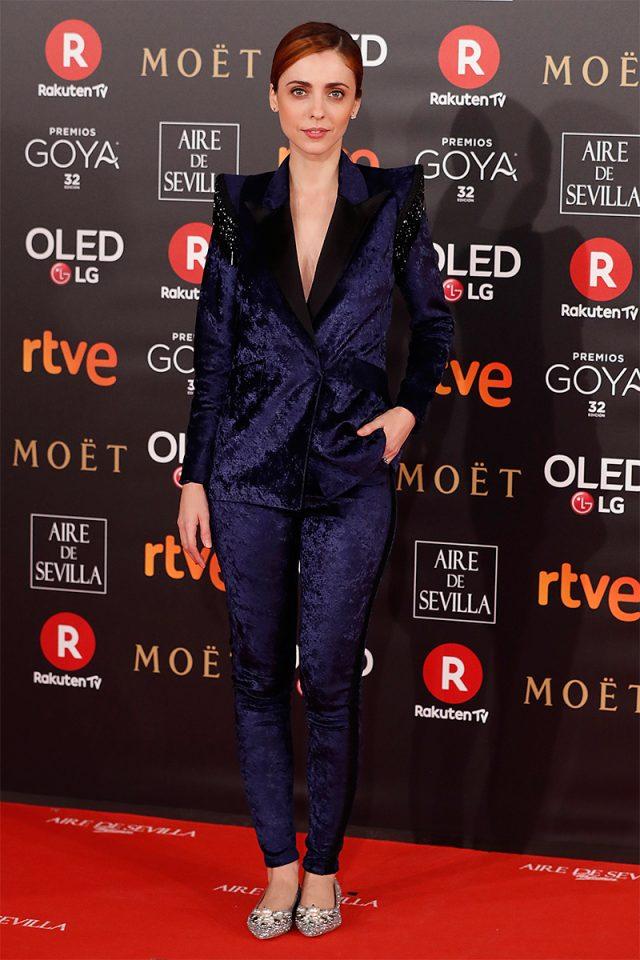 leticia dolera alfombra roja Goya 2018